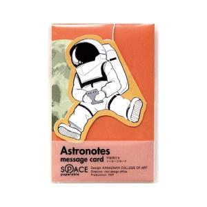 東急ハンズ 山越 宇宙飛行士 メッセージカード YKP90−4285 オレンジスカイ hands-net