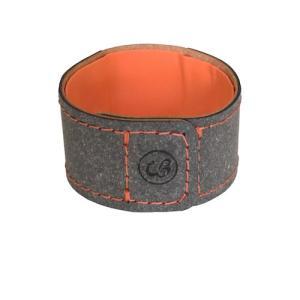 カラー:[本体]グレー[内側]オレンジ[縫製糸]オレンジ 本体サイズ(約):幅2.8×奥20.3×厚...