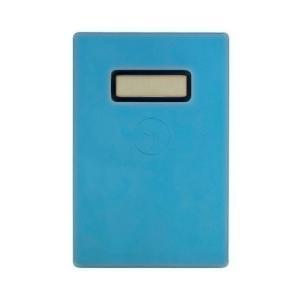 カラー:ブルー 本体サイズ(約):幅58.5×奥5.6×高88mm 重量(約):24g(コイン電池含...
