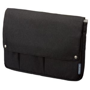 カラー:ブラック サイズ(約):幅360×奥45×高250mm(A4ヨコ) メインポケット内寸法(約...