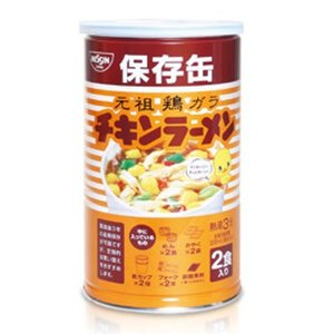 東急ハンズ 日清食品 チキンラーメン保存缶 2食入|hands-net