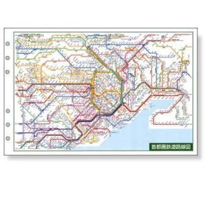 レイメイ ダヴィンチ 広域鉄道路線図 DR353 東急ハンズ