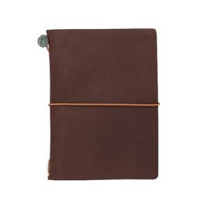 東急ハンズ ミドリ トラベラーズノート パスポートサイズ 15027006 茶