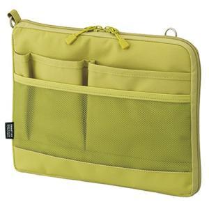 カラー:イエローグリーン 本体サイズ(約):幅26×奥2.5×高20cm 素材:ポリエステル
