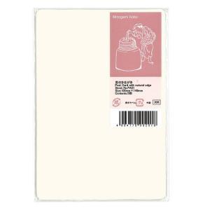 東急ハンズ 美の紙工房 インクジェット和紙 耳付はがき PA01 白|hands-net