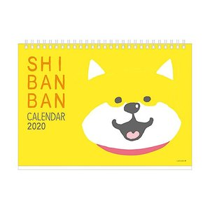 東急ハンズ 【2020年版・卓上】 マインドウェイブ カレンダー しばんばん よきよき B6サイズ_56532|hands-net