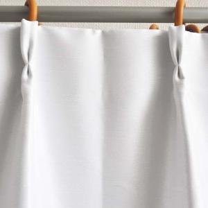 カラー:ホワイト 本体サイズ(約):幅100×丈135cm パッケージサイズ(約):幅25×奥35×...