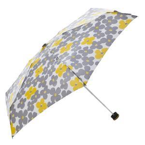 東急ハンズ HUS. スマートデュオ 晴雨兼用折りたたみ傘 54539 フラワーイエロー|hands-net