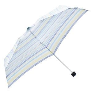 東急ハンズ HUS. スマートデュオ 晴雨兼用折りたたみ傘 54541 フリーハンドブルー
