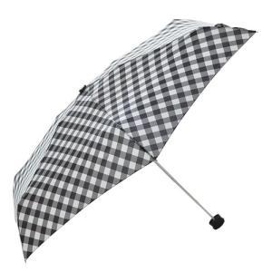 東急ハンズ HUS. スマートデュオ 晴雨兼用折りたたみ傘 54543 スラントギンガム