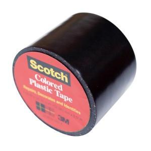 東急ハンズ 3M スコッチ プラスチックテープ 38mm 191 黒|hands-net