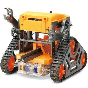 東急ハンズ タミヤ カムプログラムロボット 工作セット 69922 ガンメタル/オレンジ|hands-net