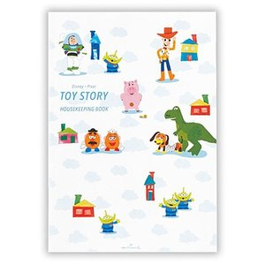 デザイン:トイ・ストーリー 本体サイズ(約):縦210×横148mm ページ数:64ページ 素材:紙...