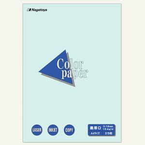 東急ハンズ 長門屋商店 カラーペーパー A4 最厚口 25枚入 水 ナ−3510 hands-net