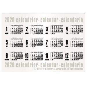 東急ハンズ 【2020年版・ポスター】エトランジェ ディ コスタリカ ポスターカレンダー B2サイズ CLP‐B2‐02 コンパクタ|hands-net