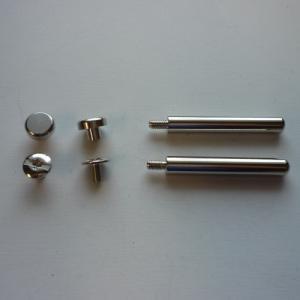 表面処理:ニッケルメッキ サイズ(約):ナベ頭[A]4mm [B]9.5mm [C]4.5mm&lt...