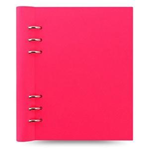カラー:ネオンピンク 本体サイズ(約):縦212×横185×厚20mm 素材:合皮、紙 原産国:中国