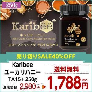 ユーカリハニー TA15+ 250g Karibee キャリビー オーストラリア産 天然蜂蜜 はちみつ ハチミツ|hands