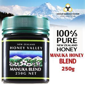 マヌカハニー ブレンド 250g ハニーバレー ニュージーランド産マヌカハニー 蜂蜜 はちみつ|hands