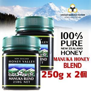マヌカハニー ブレンド 250g 2個セット ハニーバレー  ニュージーランド産マヌカハニー 蜂蜜 はちみつ|hands