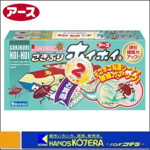 【アース製薬】ゴキブリホイホイ+デコボコシート2個パック No.201317|handskotera