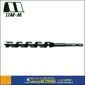 【STAR-M スターエム】木工用ドリル No.7M インパクトビットミドル 6.0mm 全長90mm [7M-060] |handskotera