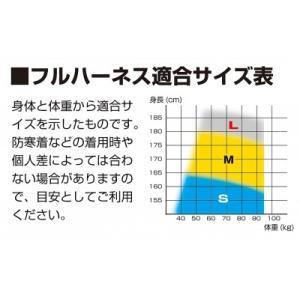 【Tajima タジマ】ハーネスGS 蛇腹 ダブルL2セット ライン黒 Mサイズ A1GSMJR-WL2BK|handskotera|08
