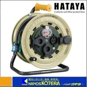 【HATAYA ハタヤ】 サンタイガーレインボーリール 単相100V 50m アース・ブレーカー付 BX-501K|handskotera