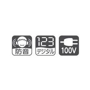 【代引き不可】【IKURA 育良精機】 ケーブル入線用ウインチ デジタル表示防音型 CW-1500D handskotera 02