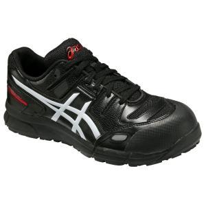 【asics アシックス】作業用靴 安全スニーカー シューレースタイプ ウィンジョブCP103 ブラック×ホワイト FCP103.9001|handskotera|02
