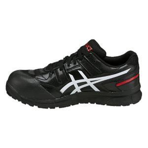 【asics アシックス】作業用靴 安全スニーカー シューレースタイプ ウィンジョブCP103 ブラック×ホワイト FCP103.9001|handskotera|04