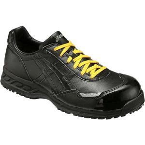 【asics アシックス】 静電気帯電防止靴 ウィンジョブE50S 黒×黒 FIE50S.9090|handskotera|02