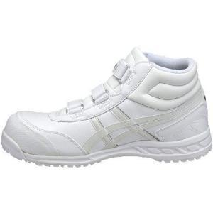 【在庫限り】【asics アシックス】作業用靴 安全スニーカー ウィンジョブ53S ホワイト×パールホワイト FIS53S.0100|handskotera|03