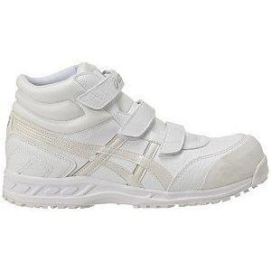 【在庫限り】【asics アシックス】作業用靴 安全スニーカー ウィンジョブ53S ホワイト×パールホワイト FIS53S.0100|handskotera|05