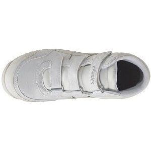 【在庫限り】【asics アシックス】作業用靴 安全スニーカー ウィンジョブ53S ホワイト×パールホワイト FIS53S.0100|handskotera|06
