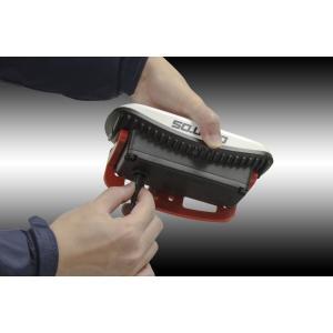 【GENTOS ジェントス】 COB LEDワークライト LED作業灯 GZ-301 1300ルーメン AC電源/充電池兼用|handskotera|04