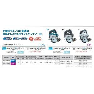 【makita マキタ】14.4V 125mm充電式丸のこ(マルノコ)HS470DZS 鮫肌チップソー+本体のみ (バッテリ・充電器・ケース別売)|handskotera|06