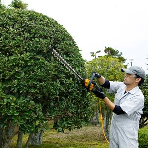 【RYOBI リョービ】 ヘッジトリマ HT-5040 超高級刃 刈込幅:500mm handskotera 03