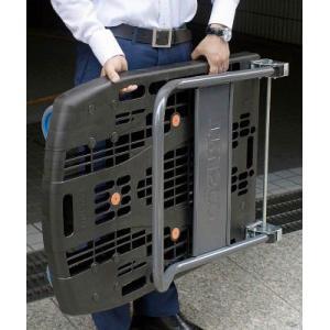 【代引き不可】【TRUSCOトラスコ】カルティオ 折畳台車 200kg 780X490 黒 MPK-720-BK|handskotera|04