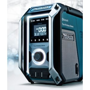 【在庫あり】【makita マキタ】充電式ラジオ MR113 青/MR113B 黒 本体のみ Bluetooth・スピーカ×3&マルチアンプ(バッテリ・充電器別売)|handskotera|02
