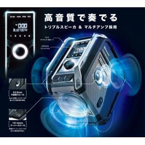 【在庫あり】【makita マキタ】充電式ラジオ MR113 青/MR113B 黒 本体のみ Bluetooth・スピーカ×3&マルチアンプ(バッテリ・充電器別売)|handskotera|05