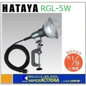 【HATAYA ハタヤ】  LED作業灯 18W LEDランプ付 RGL-5W|handskotera
