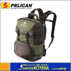 【PELICAN ペリカン】 S100 緑 バックパック 470×330×254 [S100GR]|handskotera