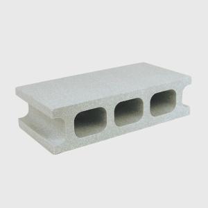 スチロールブロック レンガ / 発泡スチロール ブロック グレー サイズ:390×190×100mm 【mono】 118869 送料別 通常配送(160k12) / レンガブロック|handsman