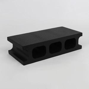 スチロールブロック レンガ / 発泡スチロール ブロック ブラック サイズ:390×190×100mm 【mono】 118877 送料別 通常配送(160k12) / レンガブロック|handsman
