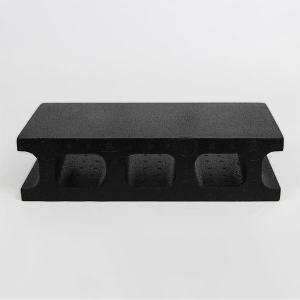 スチロールブロック レンガ / 発泡スチロール ブロック ブラック サイズ:390×190×100mm 【mono】 118877 送料別 通常配送(160k12) / レンガブロック handsman 02