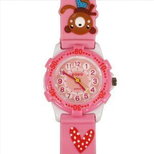 【廃番・取扱中止品】子供用腕時計 キッズウォッチ ウサギ クマ ピンク サンフレーム TCL25-PI (1824112)取寄せ商品 送料別 通常配送|handsman