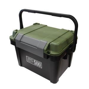 アステージ シールドボックス シャット500 ブラックグリーン (2001179) 取寄せ商品 送料別 通常配送|handsman