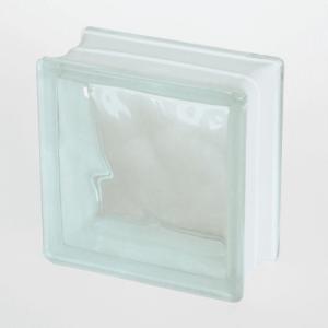 ガラスブロック クラウディ (約)190×190×95mm (2173468) 送料別 通常配送|handsman