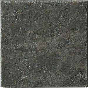 サイム磁器タイル (屋内床OK) ガラパゴス ダークグレー 15 15×15cm 46枚入 5990 (2176599) 陶器タイル  送料別 通常配送|handsman